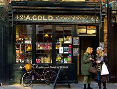 Village shop  (A.Gold) Spitalfields, London