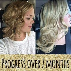 Real Results with Monat. Healthier hair guaranteed!  918-521-4778 (Bryleigh) Let's get you fabulous hair!