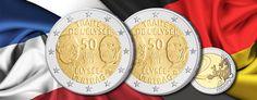 """Erste deutsch-französische Gemeinschaftsausgabe: 2 Euro-Gedenkmünze 2013 """"50 Jahre Élysée-Vertrag"""""""