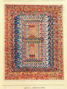 'Portal de una mezquita' de Paul Klee (1879-1940, Switzerland)