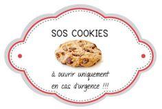 sos cookies 1 Free Planner, Printable Planner, Planner Stickers, Printables, Kit Cookies, Etiquette, Breakfast, Crafts, Food