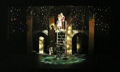 Romeo and Juliet - Set design by Carol Cooley. Lighting by Heidi Hoffer.