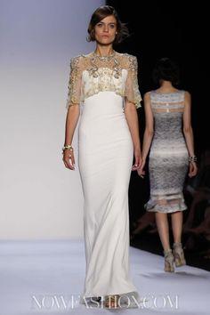 Badgley Mischka Ready To Wear Spring Summer 2014 New York - NOWFASHION