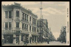 Anônimo. Rua da Assembléia, década 1910. Rio de Janeiro Brasiliana Fotográfica