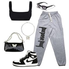 Teen Fashion Outfits, Sporty Outfits, Swag Outfits, Dope Outfits, Retro Outfits, Look Fashion, Outfits For Teens, Stylish Outfits, Sporty Fashion