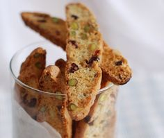 Lynda Reeves' Lemon Pistachio Biscotti Recipe // House & Home