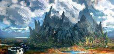 ArtStation - Un'Goro Crater, Yanli Wang