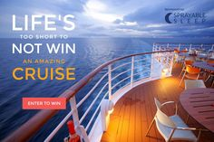 Win a Free Cruise Anywhere in the World. Just enter your email address!