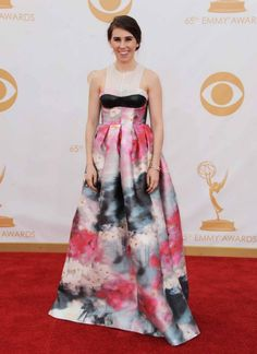 2013 Emmy Awards red carpet: Zosia Mamet in Honor.