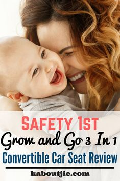 Safety 1st Grow and Go 3 in 1 Convertible Car Seat Review    Safety 1st Grow and Go 3 In 1 Convertible Car Seat was designed to grow with your child in three stages. This car seat can be a lifesaver when it comes to saving money in the long run as it grows with the child, which is great for any parent.     #guestpost #babycarseat #review