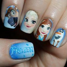 Uñas Frozen