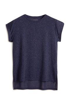 Primark - Marineblaues Boyfriend T-Shirt