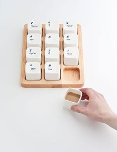 Keyboard Coffee Cups ||  man i need this set ! love it so much and given my love of math and numberpads/calculators it would suit me perfectly and delight my soul to own it| / TechNews24h.com