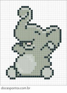 Billedresultat for hama perler elefant Elephant Baby Blanket, Crochet Elephant, Happy Elephant, Elephant Pattern, Cross Stitch Baby, Cross Stitch Animals, Elephant Cross Stitch, Perler Bead Art, Perler Beads