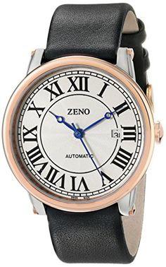 Bild ZENO HERREN 42MM AUTOMATIKWERK SCHWARZ… Basel, Watches, Leather, Shopping, Accessories, Watch, Tag Watches, Wrist Watches