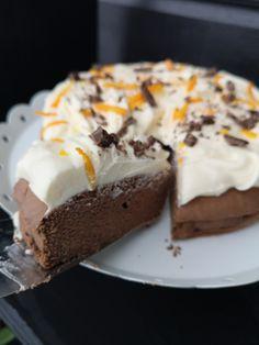 Sjokoladekake med kardemomme! – H J E M M E L A G A Frisk, Kefir, Cheesecake, Pudding, Desserts, Food, Meal, Cheesecakes, Custard Pudding