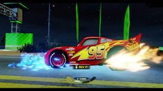 CARS 3 GAMEPLAY -Lighting McQueen- TAKEDOWN - MİDNİGHT RUN