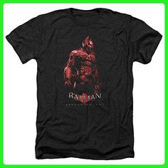 Batman: Arkham Knight Video Game Arkham Knight Suit Adult Heather T-Shirt Tee - Gamer shirts (*Amazon Partner-Link)