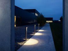 outside luminaire . Bollard Lighting, Pathway Lighting, Outdoor Lighting, Light Architecture, Landscape Architecture, Interior Lighting, Lighting Design, South Carolina, Lanscape Design