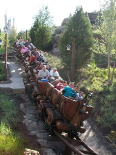 Attractions: The Seven Dwarfs Mine Train and it's Popularity