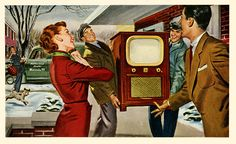 A Television Brings Unlimited Joy To Every Household by paul.malon, via Flickr