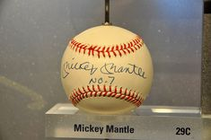 autographed Mickey Mantle baseball http://www.diamondautographs.com/autographed-mickey-mantle-items-still-a-big-hit