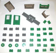 $19 #ebay #lego #legotrains #legocity #legotown #legos #forsale LEGO Green Cargo Train 4872 2877 4176 32038 4182 4181 Door 6567 52036 4 7898 lot