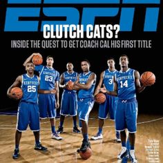 Forget a championship -- there's nothing so elusive as vindication. Just ask Kentucky coach John Calipari, Elena Bergeron writes in ESPN The Magazine's Choke Issue. Wildcats Basketball, Kentucky Basketball, Basketball Teams, College Basketball, Basketball Photos, Basketball Crafts, Basketball Season, Basketball Socks, Basketball Uniforms