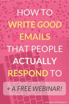 How to Write a Good Email that People Actually Respond to Writing Offices, Welcome On Board, Best Email, Cool Writing, Blogging For Beginners, Make Money Blogging, Social Media Tips, Blog Tips, Email Marketing