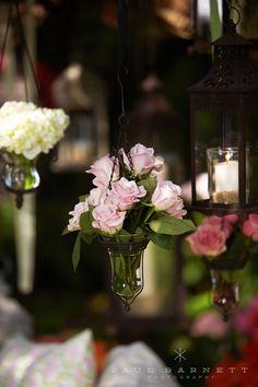 California Wedding: Romantic Garden Tent Wedding - MODwedding
