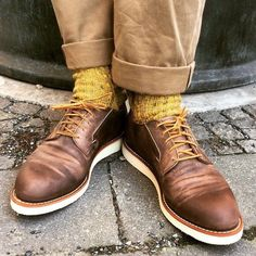red wing 3106 postman in concrete rough & tough