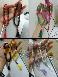 Munira Mazlan: Tutorial Handmade Tasbih :)
