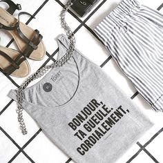 #JaimeLaGrenadine #tshirt #teeshirt #swag #badass #bonjour #summer #politesse #cordialement #lundi