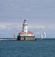 lake michigan lighthouses | Lake Michigan Lighthouse | Flickr - Photo Sharing!
