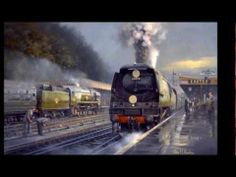 "▶ Música instrumental de MICHAEL BEHRENS ""IMPRESSIONS"" (arte, trenes antiguos) -"
