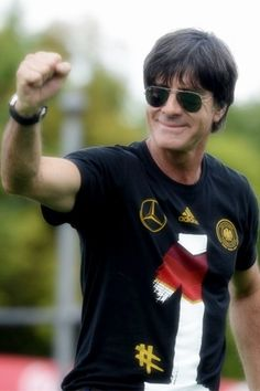 Jogi Löw enjoying fanfest in Berlin :) DANKE Jogi for everything, and for proving all haters wrong ❤️