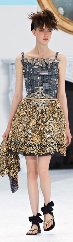 #Chanel - Haute Couture 2014/15 FW August 2014 via my Chanel Newsletter#