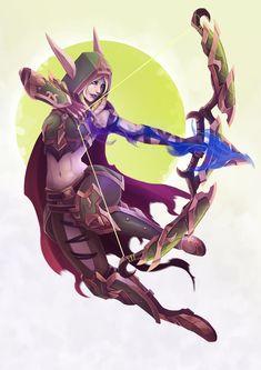 Alleria Windrunner [Fanart] #worldofwarcraft #blizzard #Hearthstone #wow #Warcraft #BlizzardCS #gaming