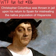 Christopher Columbus - WTF fun fact