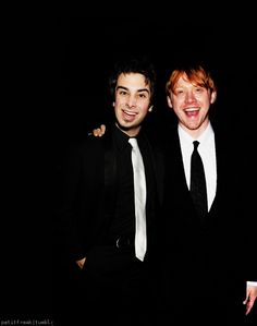 Day 29, Favorite picture of Joey - I love this picture of Joey Richter and Rupert Grint