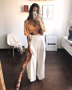Lazy Outfits, Chic Outfits, Spring Outfits, Fashion Outfits, Street Style Summer, Mode Inspiration, Feminine Style, Festival Fashion, Look Fashion