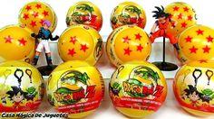 Esferas del Dragón Sorpresas de Dragon Ball Z con Sorpresa Goku + Vegeta...