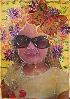 StencilGirl-Leslie Riley TAP Blog Hop Project by Gwen Lafleur