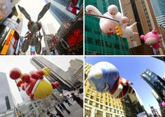 Macy's Thanksgiving Day Parade Balloons by Jeff Koons, Takashi Murakami, Tom Otterness and Tim Burton