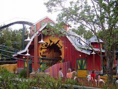 Goofy's Barnstormer Roller Coaster
