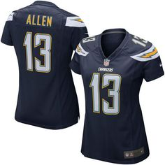 Keenan Allen Los Angeles Chargers Nike Girls Youth Game Jersey - Navy - $64.99