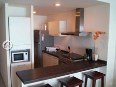 Very modern european kitchen on the 2dr penthouse unit. Amara Cancún; Cancun real estate