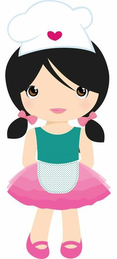 pin by marina on meninas pinterest clip art monster high rh pinterest com free clipart chef holding menu free clipart chef cooking