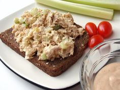 From author @CleoCoyle: Ever heard of CHIPOTLE TUNA SALAD? You have now thanks to author Cleo Coyle. Click the photo to learn how easy it is to make your own chipotle dipping sauce and sandwich spread--or jazz up a tuna or chicken salad sandwich.