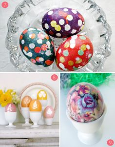 Easter egg ideas! // Love #9 -- how to dye eggs using silk menswear ties!